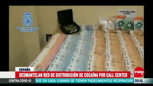 desmantelan en espana call center de distribucion de cocaina