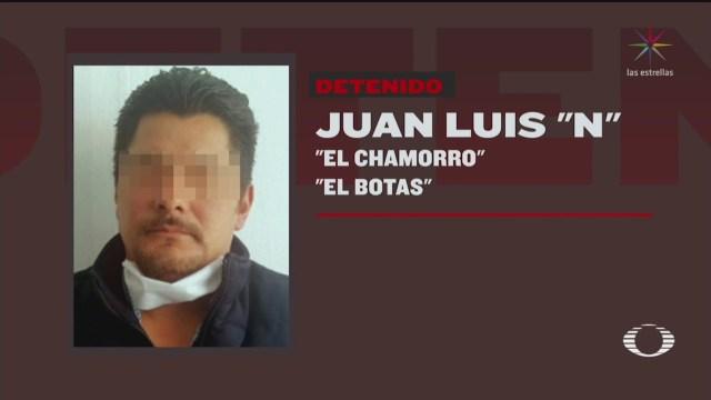 detienen a el chamorro en el estado de mexico
