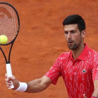 El tenista número uno del mundo Novak Djokovic