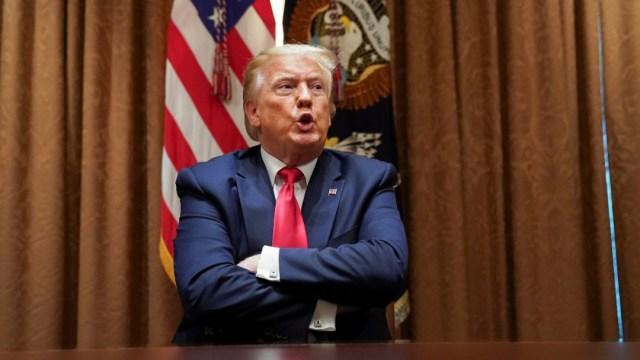 Donald Trump, presidente de Estados Unidos. Reuters