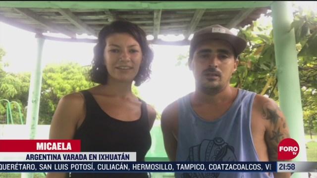 dos argentinos estan atrapados en oaxaca por covid