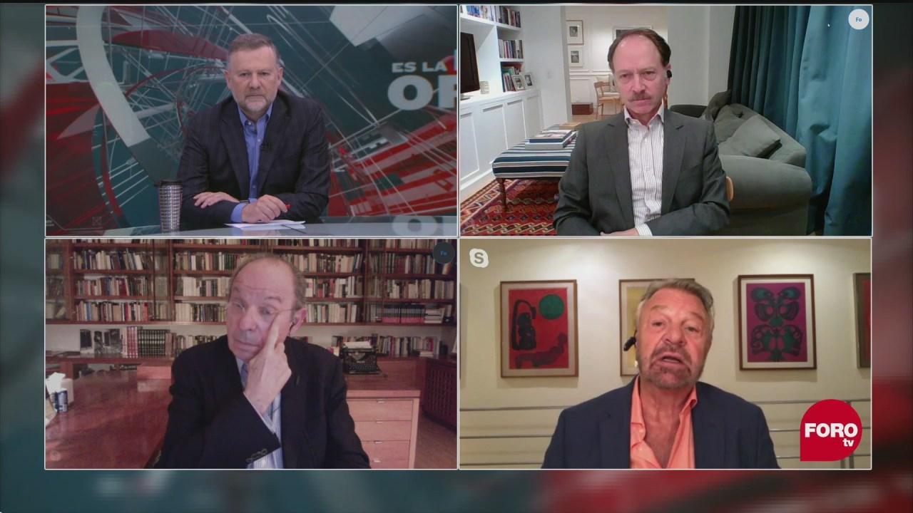 Leo Zuckermann, Héctor Aguilar Camín, Jorge Castañeda analzian el periodismo y la polarizacion política