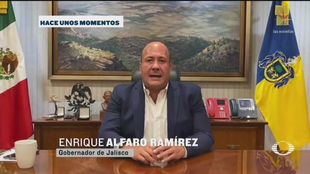 Alfaro asegura que violencia en Jalisco fue provocada por intereses provenientes de CDMX