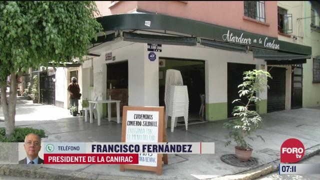 Entrevista con Francisco Fernández, presidente de la CANIRAC, en Estrictamente Personal
