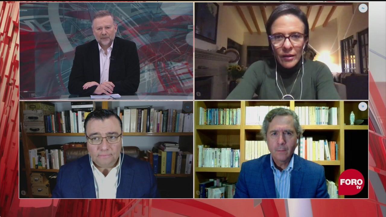 Leo Zuckermann, Ana Laura Magaloni, Luis de la Calle y Sabino Bastidas analizan si es prudente que AMLO viaje a Estados Unidos para ver a Trump
