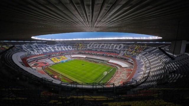 Estadio Azteca cerrado. Getty Images