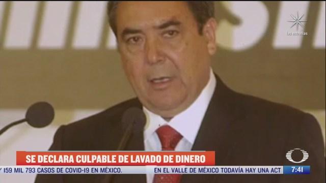 exgobernador de coahuila se declara culpable de lavado de dinero