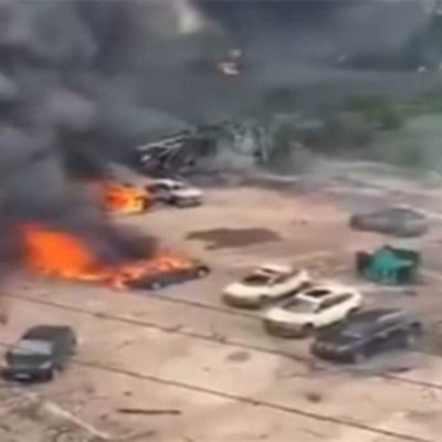 Explosión de camión cisterna deja al menos 18 muertos y más de 100 heridos en China