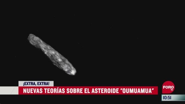 extra extra nuevas teorias sobre el asteroide oumuamua