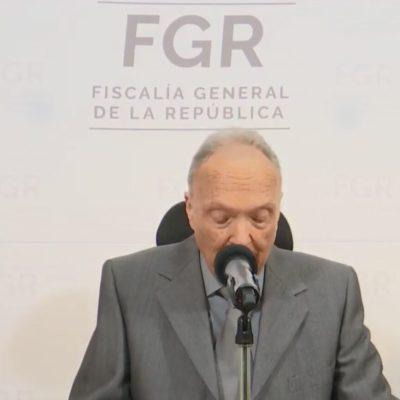 FGR solicita 46 órdenes de aprehensión por caso Ayotzinapa: Gertz Manero