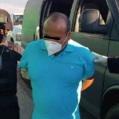 Detienen a Fidel Figueroa, presidente municipal de Zacualpan, Edomex. Twitter/FGEM