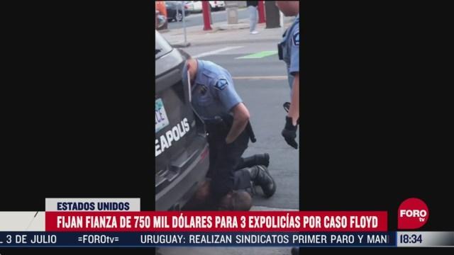 FOTO: fijan fianza de 750 mil dolares a expolicias implicado en muerte de george floyd