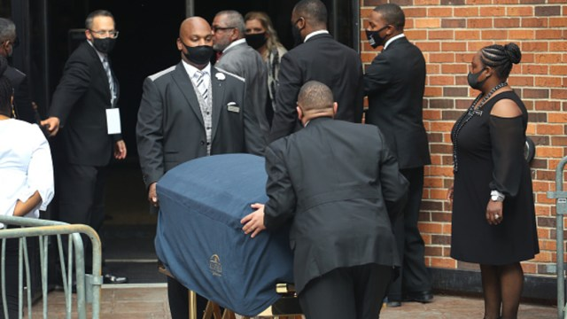 Foto: Realizan funeral de cuerpo presente de George Floyd en Minneapolis, 4 de junio de 2020, (Getty Images, ARCHIVO)