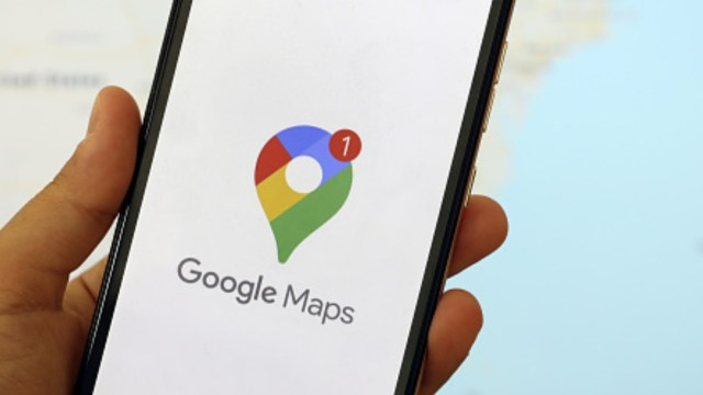 Aplicación de Google Maps. Getty Images