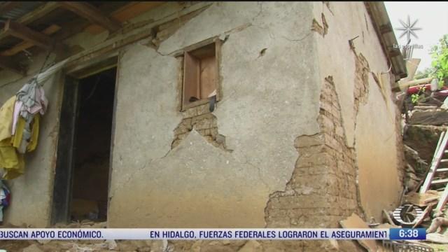 habitantes de san juan ozolotepec oaxaca buscan sobreponerse al sismo