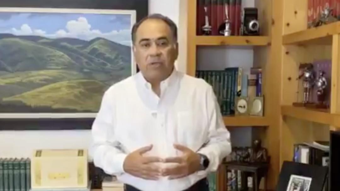 Héctor Astudillo, gobernador de Guerrero, dio un mensaje en su cuenta de Twitter. (Foto: @HectorAstudillo)