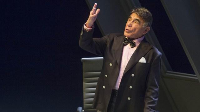 El actor Héctor Suárez en la obra 'El Crédito'. (Foto: Cuartoscuro)