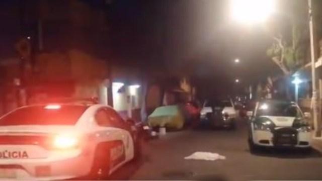 Ejecutan a un hombre en la colonia Euzkadi, alcaldía Azcapotzalco. (Foto: Twitter)