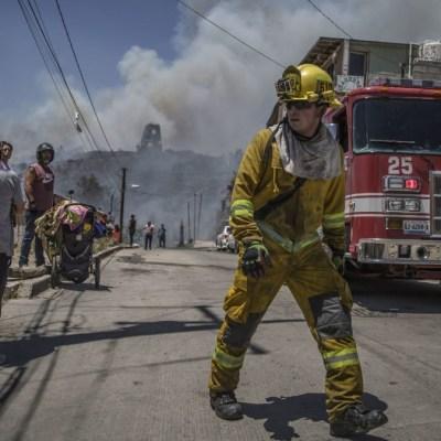 Mueren dos militares que combatían incendios forestales en Tijuana