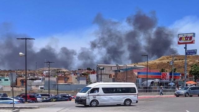 incendios forestales tijuana
