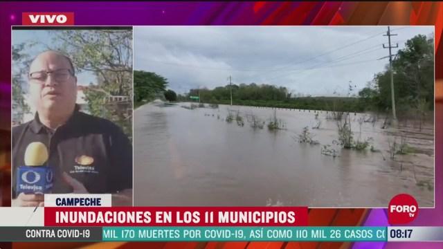 FOTO: 6 de junio 2020, inundaciones por tormenta tropical cristobal afectan 11 municipios de campeche