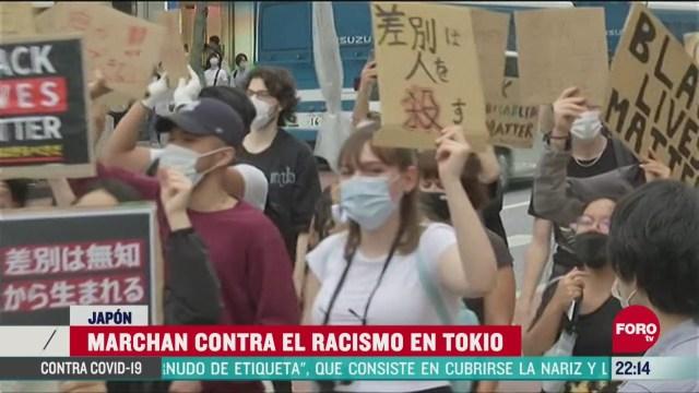 FOTO: 14 de junio 2020, japoneses se unen a protestas contra el racismo en calles de tokio