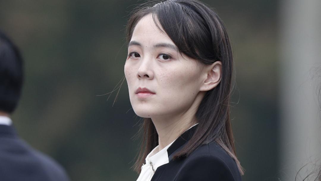 La hermana del líder de Corea del Norte, Kim Yo Jong. (Foto: Getty Images)