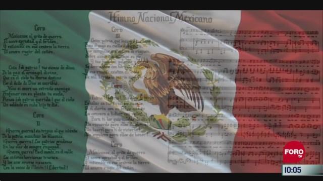 la historia del himno nacional mexicano