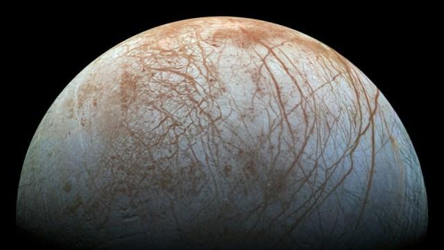 Luna europa de jupiter con oceano posiblemente habitablel