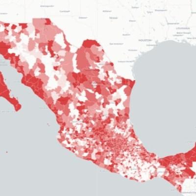 Mapa y casos de coronavirus en México del 15 de junio de 2020