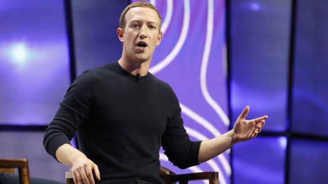 Mark Zuckerberg, CEO de Facebook. Getty Images