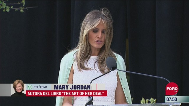 mary jordan presenta su libro the art of her deal