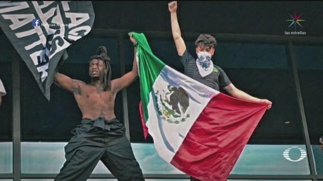 mexicanos se unen a las protestas por la muerte de george floyd