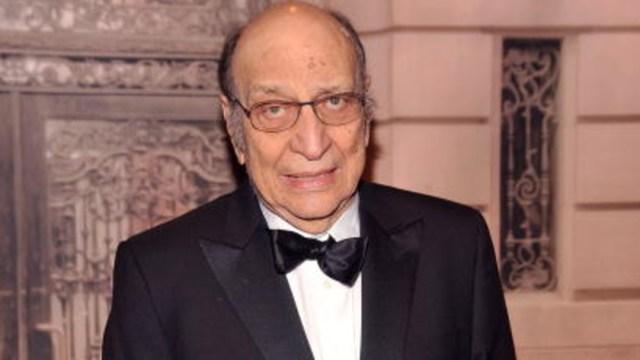 El diseñador gráfico Milton Glaser