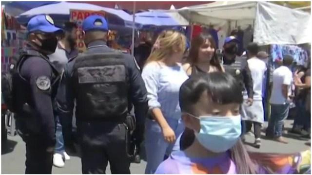 Foto: Muere un hombre tras balacera en Tepito, 14 de junio de 2020 (Foro TV)
