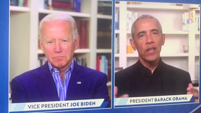 Obama ayuda a recaudar 11 mdd para Biden en un evento en línea