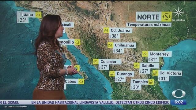 onda tropical 7 y zona de baja presion provocaran lluvias en mexico