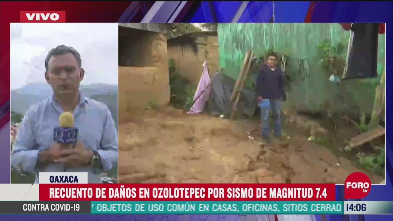 ozolotepec uno de los municipios mas afectados por el sismo en oaxaca