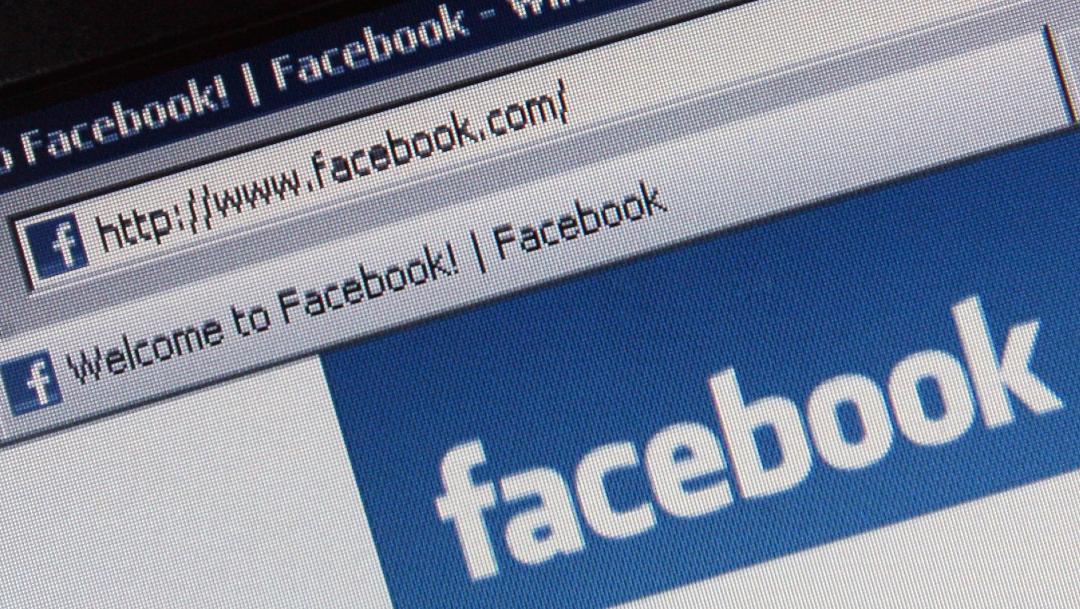 Portal de la página web de Facebook; Facebook