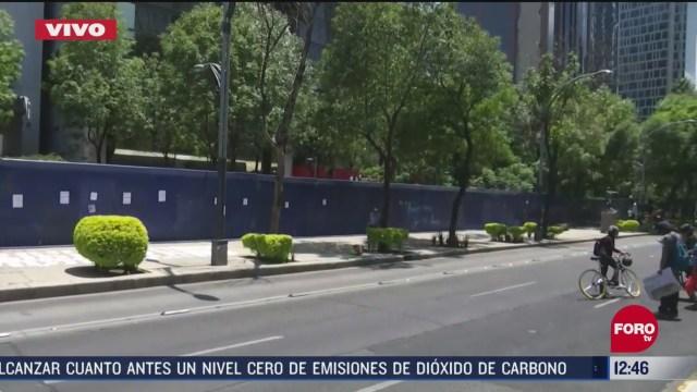 protestas ante la embajada de eeuu en la cdmx