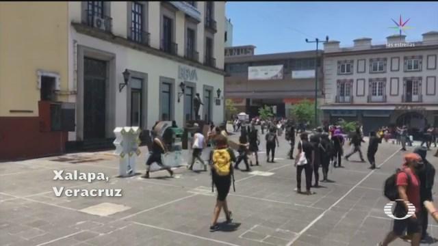 protestas en xalapa veracruz por muerte de rapero en separos de la policia
