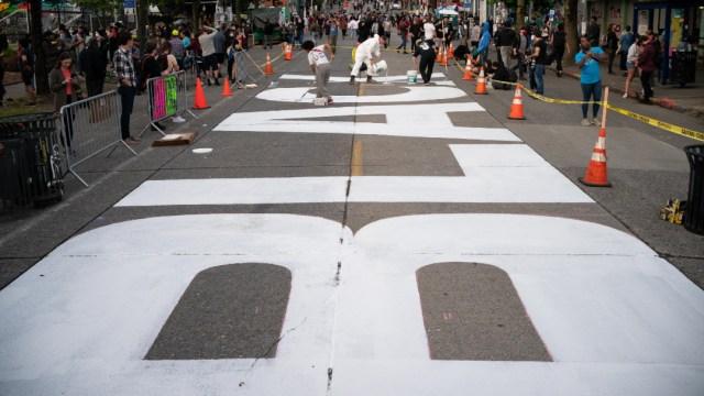 FOTO: Tiroteo en zona de protestas en Seattle deja un muerto, el 20 de junio de 2020