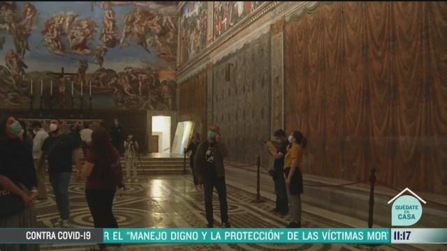reabren museos en el vaticano tras pandemia por coronavirus