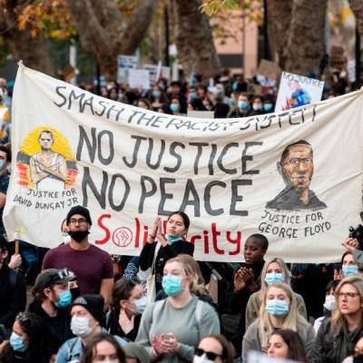 Protestas 'Black Lives Matter' en Australia son pacíficas