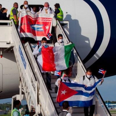 Regresa a Cuba brigada de médicos que combatió el COVID-19 en Italia