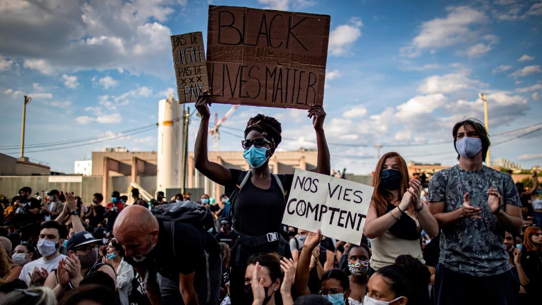 Foto: Resurge tensión en Francia por muerte de joven negro, ocurrida en 2016