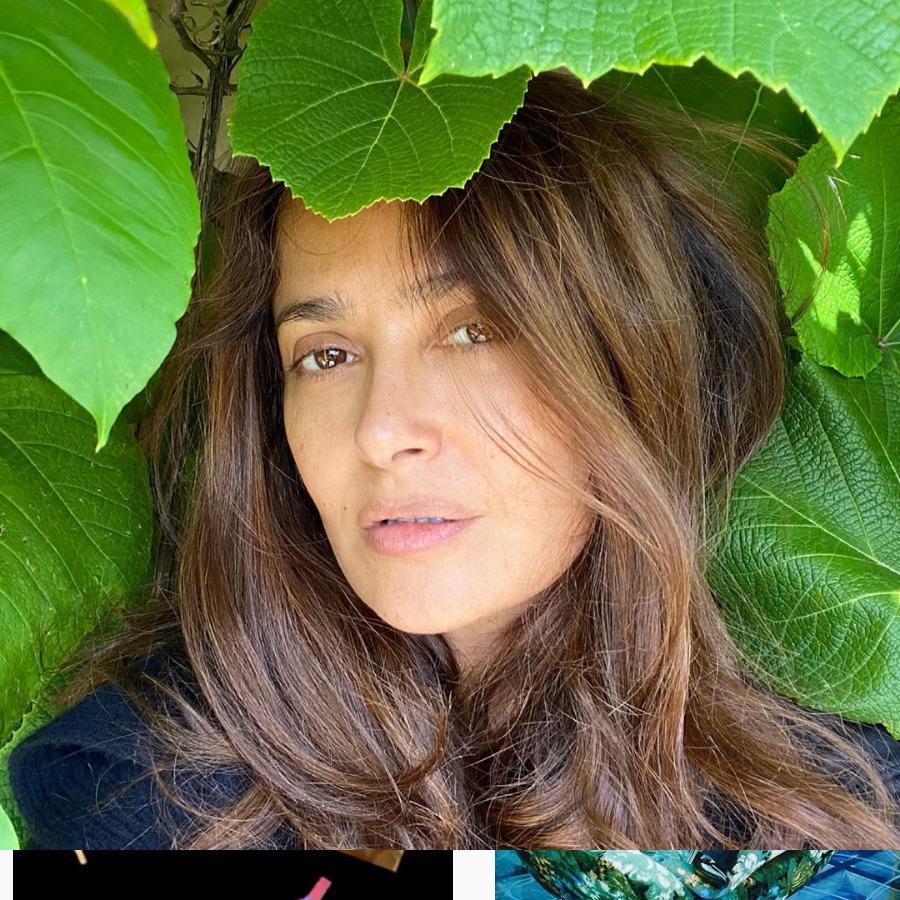 Salma-Hayek-belleza-natural-sin-maquillaje-canas