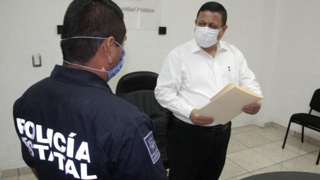 Renuncia secretario de Seguridad de Colima, Enrique Alberto Sanmiguel