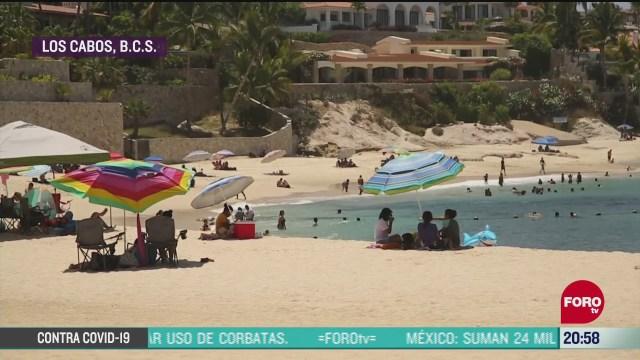 Turirmo en Los Cabos ser recupera de pandemia coronavirus