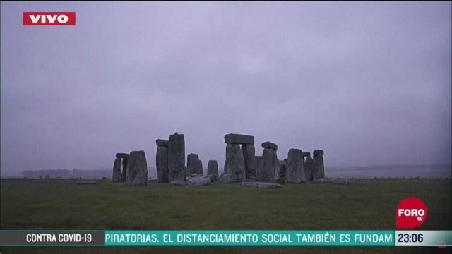 FOTO: 20 de junio 2020, solsticio de verano en stonehenge